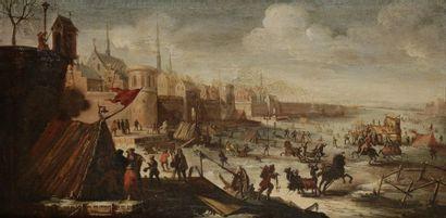 Attribué à Jan Karel Van EYCK (1649 - 1700)...