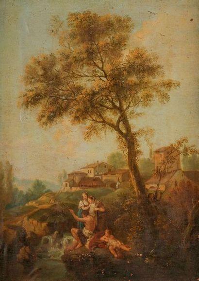 École VENITIENNE du XVIIIe siècle, suiveur...