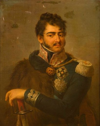 Attribué à Joseph GRASSI (1757-1838) Portrait...