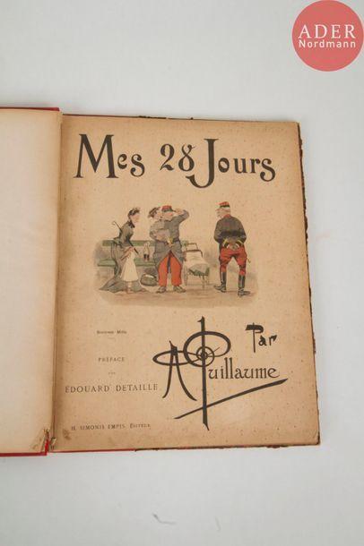 Deux volumes : - Albert GUILLAUME, Mes 28...