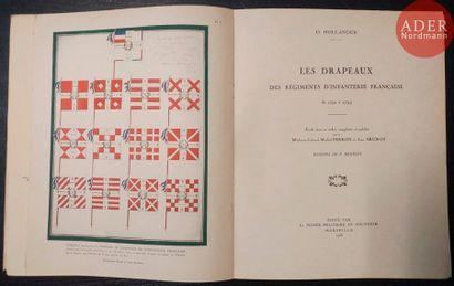 O. HOLLANDER Les drapeaux des régiments d'infanterie...