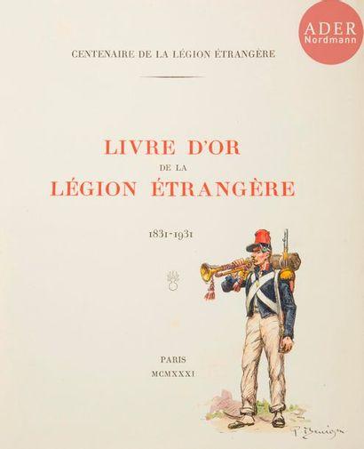 Le livre d'or du centenaire de la Légion...