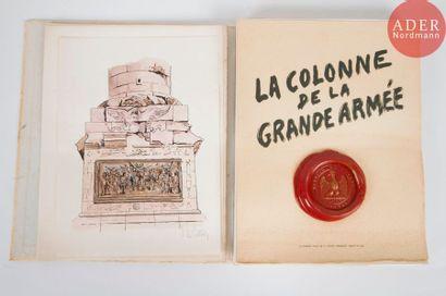 Albert CHATELLE La colonne de la Grande armée....