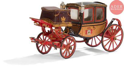 Maquette du carrosse impérial de l'Empereur...
