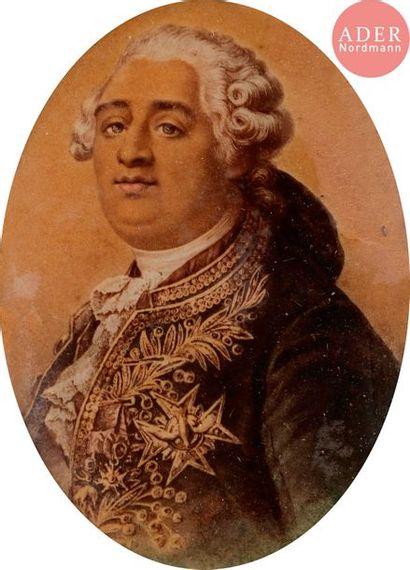 BOZE (d'après) Le Roi Louis XVI en buste...