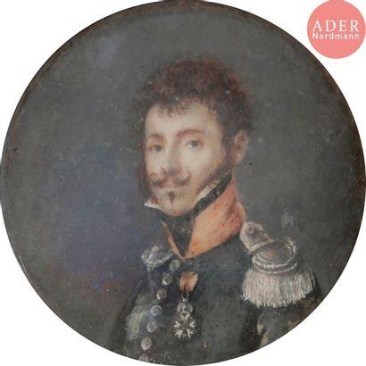 ÉCOLE FRANÇAISE DU XIXe SIÈCLE Lieutenant...