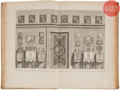 DU MOLINET (Claude). Le Cabinet de la bibliothèque...
