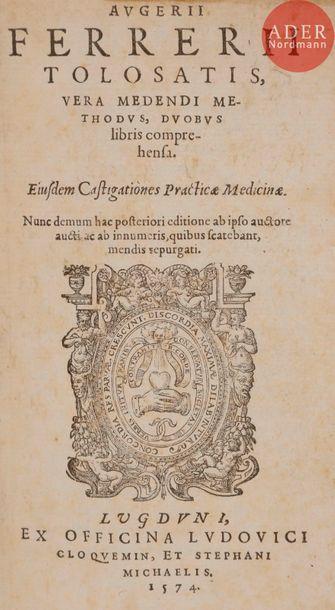 FERRIER (Auger). Augerii Ferrerii Tolosatis,...