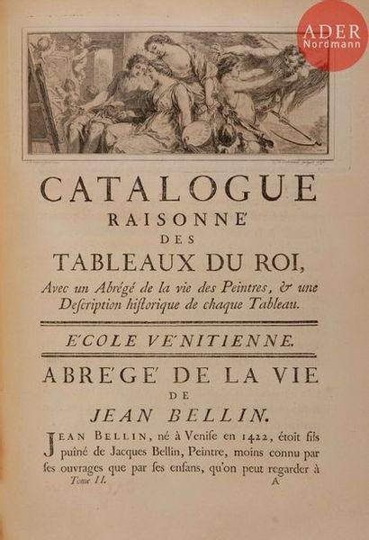 LÉPICIÉ (François-Bernard). Catalogue raisonné...