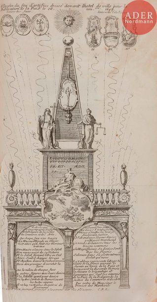[LOUIS XIV]. Recueil de documents historiques...