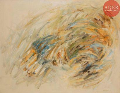 Albert CHAMINADE (1923-2010) Peinture, 1961...