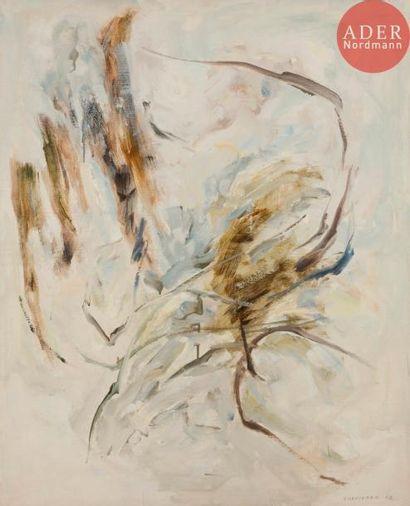 Albert CHAMINADE (1923-2010) Peinture, 1962...