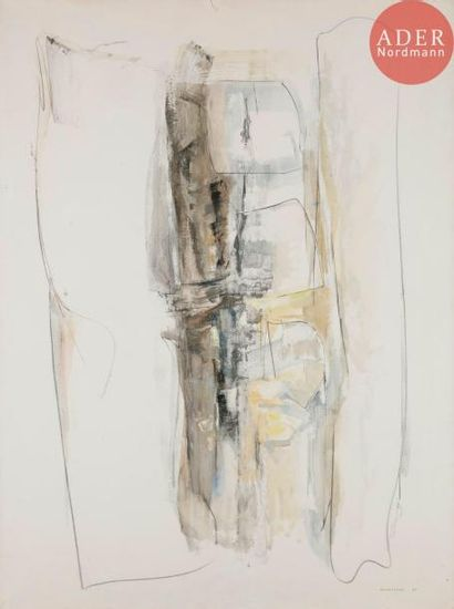 Albert CHAMINADE (1923-2010) Signe de l'air,...
