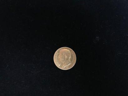1 pièce de 40 Francs en or Type Napoléon...