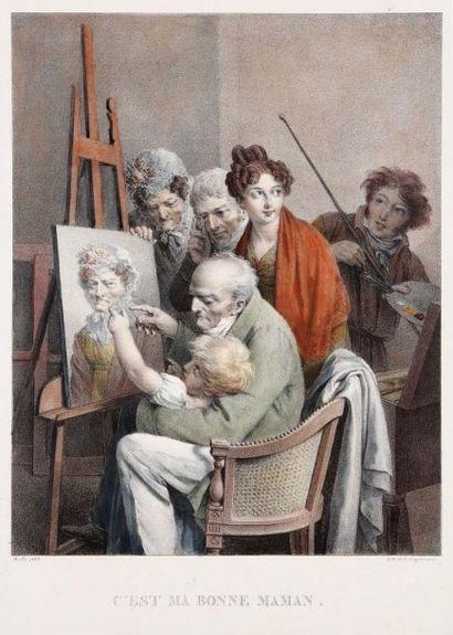 Louis-Léopold Boilly (1761-1845)