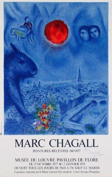 Marc Chagall (d'après)