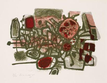 Corneille (Guillaume Cornelis van Beverloo, dit) (1922-2010)
