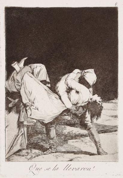 Francisco de Goya y Lucientes (1746-1828) Que se la llevaron ! (Los Caprichos, pl....