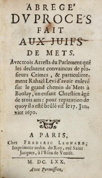 [AMELOT DE LA HOUSSAYE Abraham Nicolas, 1634 - 1706]
