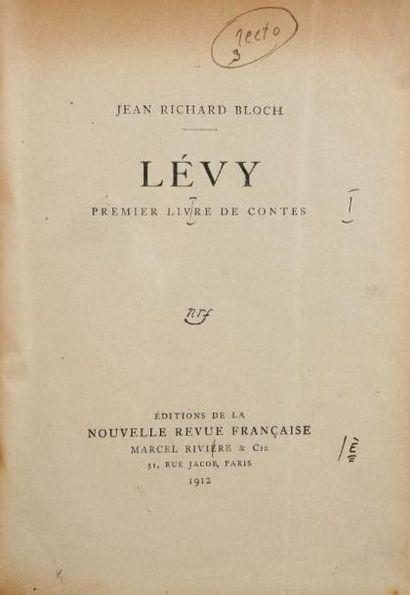BLOCH Jean- Richard