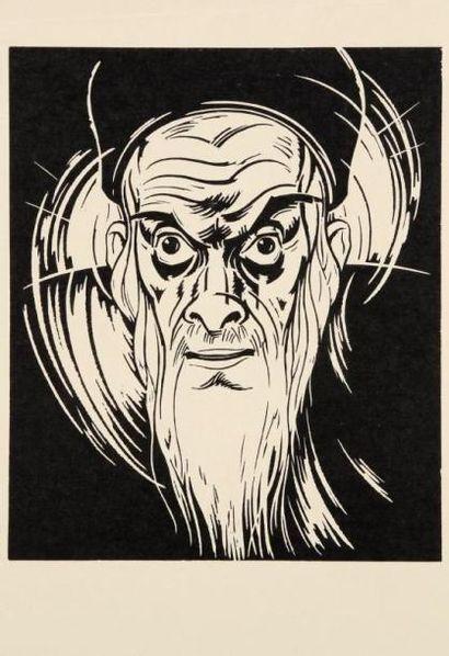 KOLNIK Artur (1890 - 1972) Grossbart gestalten. 12 Holzschnitte - Paris, Verlag Kunstler...