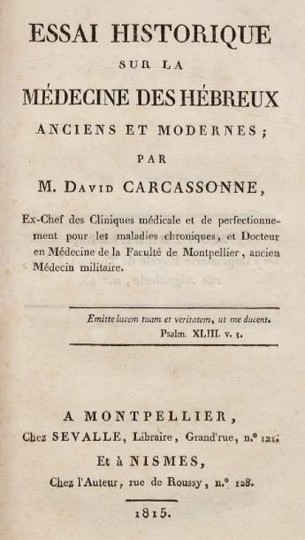 CARCASSONNE David
