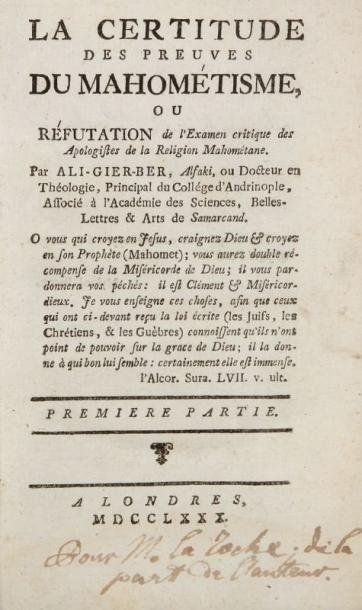 [CLOOTS Jean-Baptiste dit Anacharsis, 1755 - 1794]