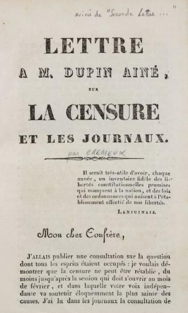CRÉMIEUX Isaac-Adolphe