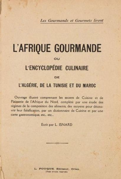 [GASTRONOMIE] - ISNARD L. - L'Afrique gourmande...