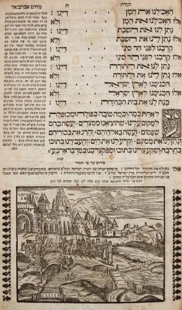 HAGADAH - Sulzbach, Zalman b. Aaron, 1755,...