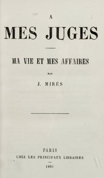 MIRES Jules (1809-1871)