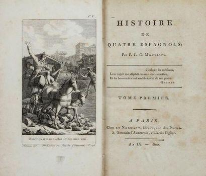 MONTJOIE (Christophe Félix Louis Ventre de la Touloubre, dit Galart de Montjoie, Aix en Provence 174