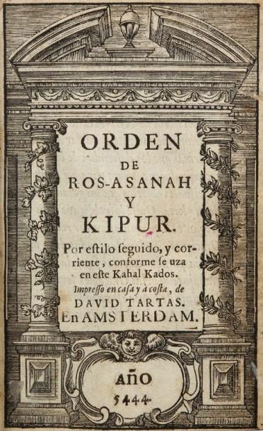 [PRIÈRES] - Orden de Ros-Asanah y Kipur,...