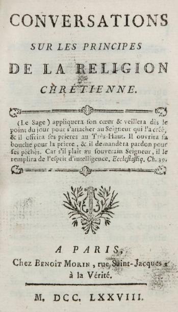 [PROSÉLYTISME CATHOLIQUE] - ANONYME - Le...