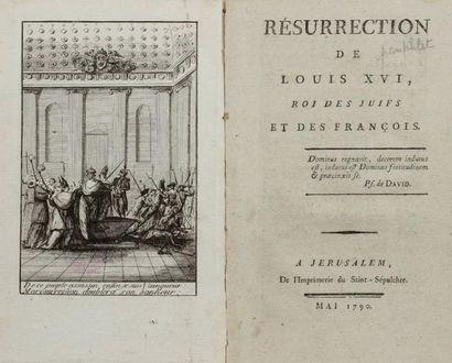 [RÉVOLUTION] - Résurrection de Louis XVI,...
