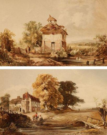 Ecole ANGLAISE du XIXe siècle