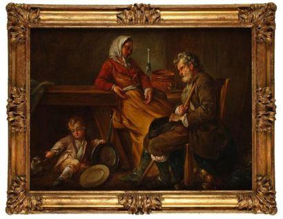 Ecole FRANCAISE du XVIIIe siècle, atelier de Noël HALLE