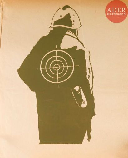 [AFFICHE MAI 68 - FORCES DE L'ORDRE] Ensemble...