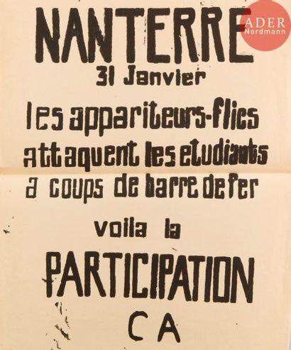 [AFFICHE MAI 68] Ensemble de 6 affiches :...