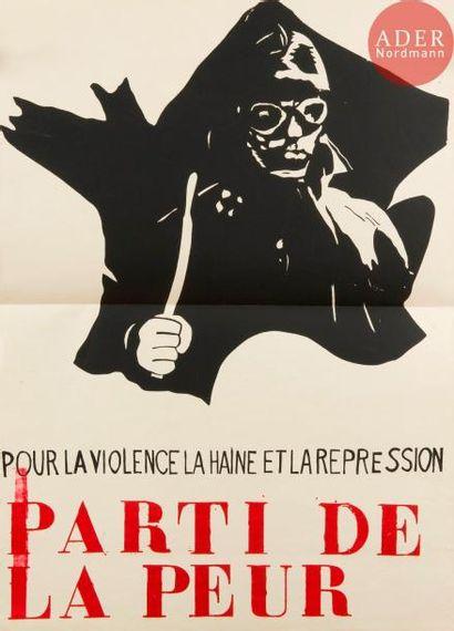 [AFFICHE MAI 68] Ensemble de 5 affiches :...