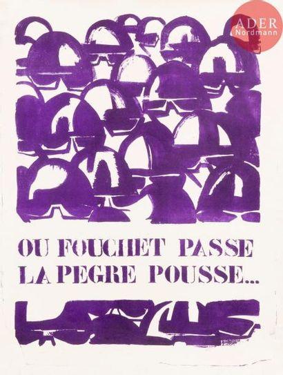 [AFFICHE MAI 68 - GOUVERNEMENT] Où Fouchet...