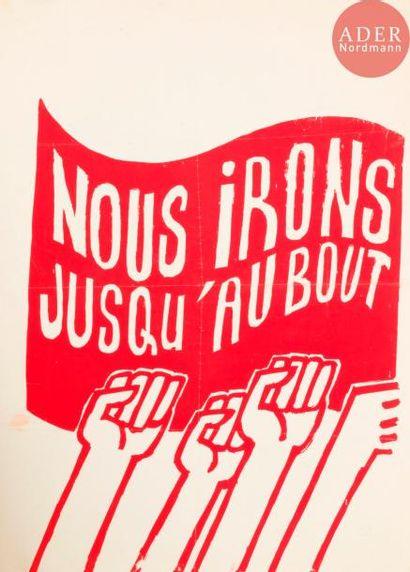 [AFFICHE MAI 68] Ensemble de 3 affiches : - Camarades ouvriers ! Contre les provocations...