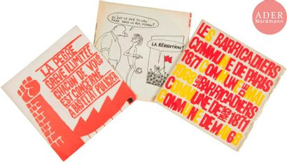[DISQUES RévolutionNAIRES MAI 68] 4 disques...