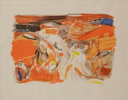 Shafic ABBOUD [libanais] (1926-2004) Composition...