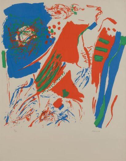 Shafic ABBOUD [libanais] (1926-2004) Couleurs,...