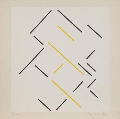 Geneviève CLAISSE (née en 1935) Composition,...