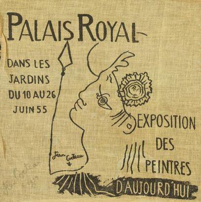 Jean COCTEAU (1889-1963) Faune, 1955 - Exposition...