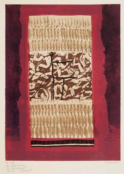 James COIGNARD (1925- 2008) Compositions...