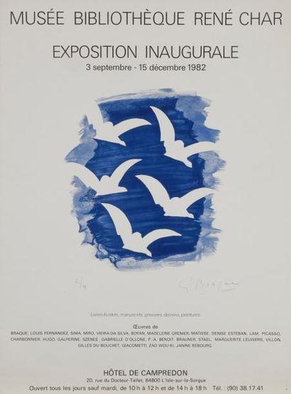 DIVERS Compositions Lot de 5 lithographies,...