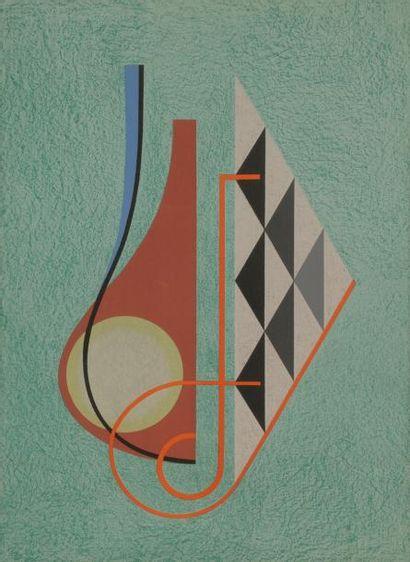 César DOMELA [néerlandais] (1900-1992) Composition...